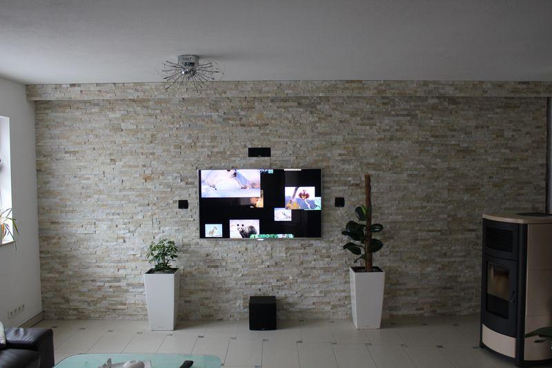 Natursteinwand wandverblender verblender riemchen - Verblender wohnzimmer ...