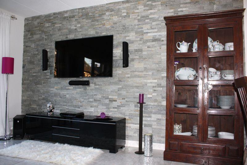 naturstein riemchen wohnzimmer inspiration design