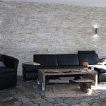 Steinpaneel Natursteinriemchen Verblender stein Wandverkleidung wandfolie steinwand Steinoptik Wohnzimmer