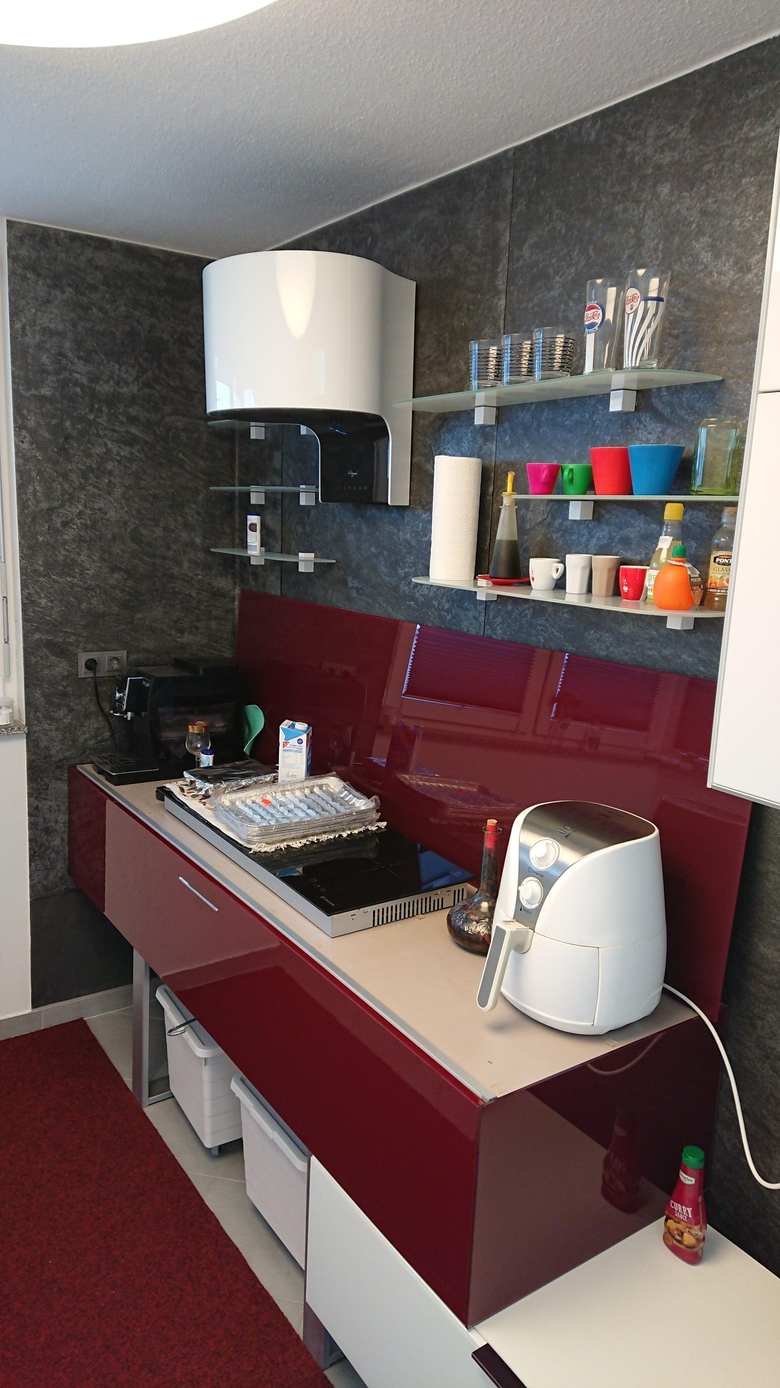 Furnier Niagra Küchenwand
