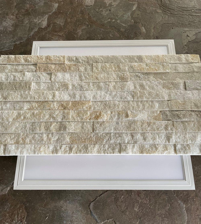 Lichtdurchlässige translucente Wandverblender Steinfurnier Wandverkleidung Wandverblender transluzent lichtdurchkässige Steinwand Schiefer Basalt Marmor Steinplatten