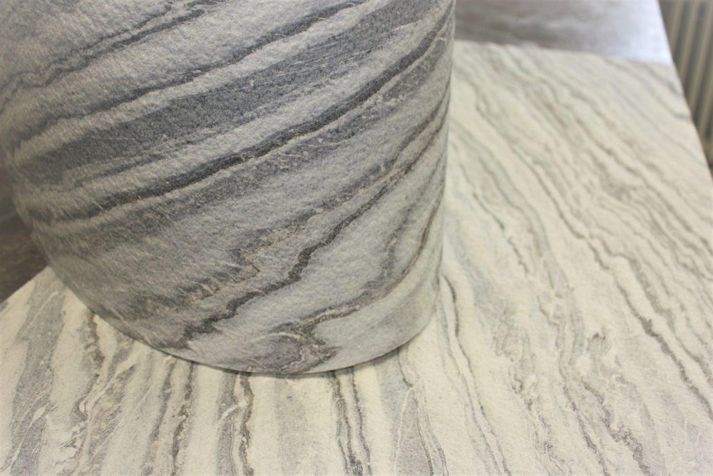 Schieferfurnier transluzent Wandverkleidung Wandverblender Marmorfurnier Dünnschiefer