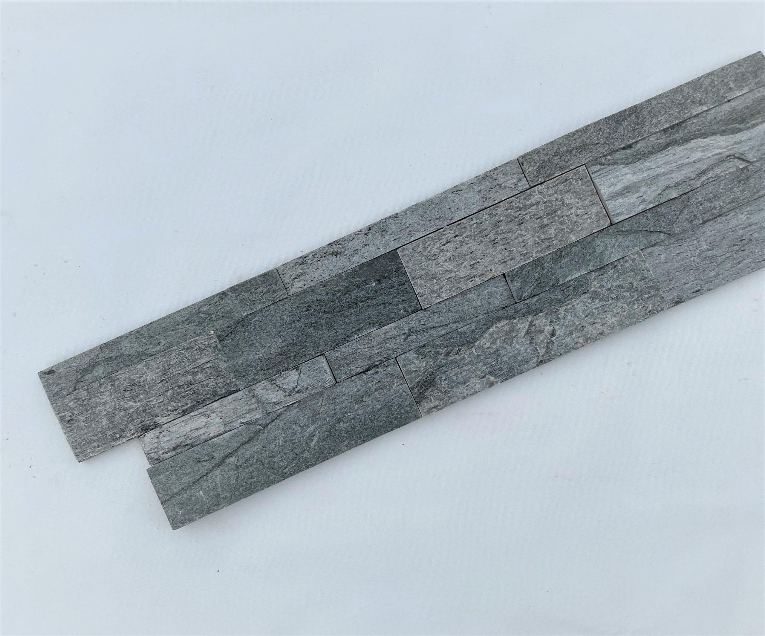 Wandverkleidung Naturstein Riemchen klinker Steinwand Schieferplatten